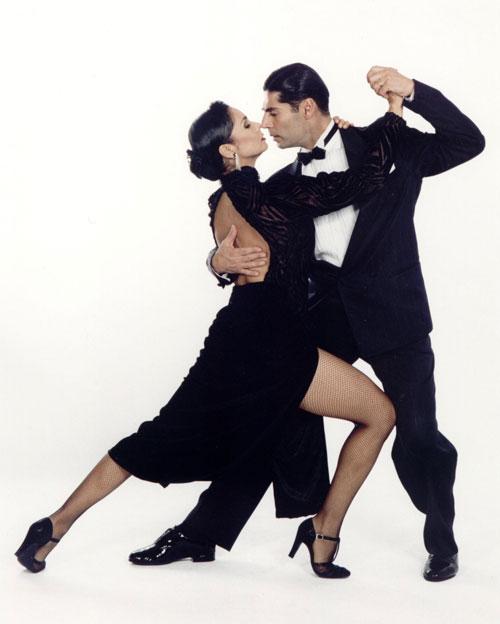 Парный танец фото